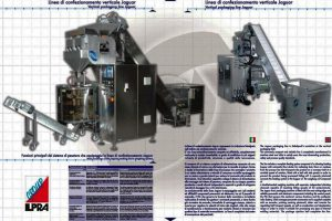 Specifiche tecniche Linea di confezionamento industriali Jaguar
