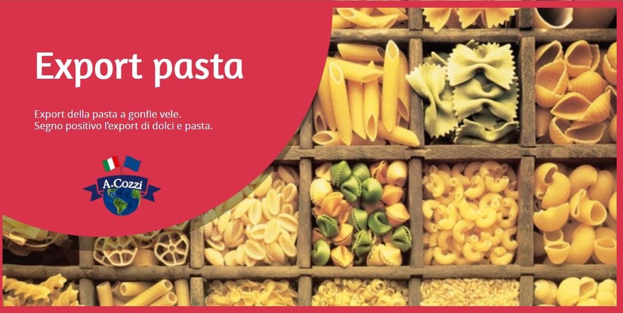 Export pasta a gonfie vele - Aldo Cozzi