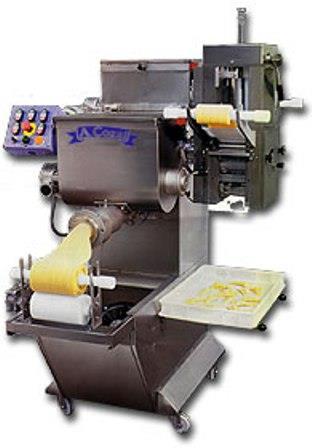 Pressa per pasta fresca con raviolatrice modello PC 55 R
