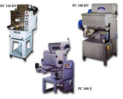 Macchine pasta estrusa PC 110 DV - PC 100 DV - PC 100 E