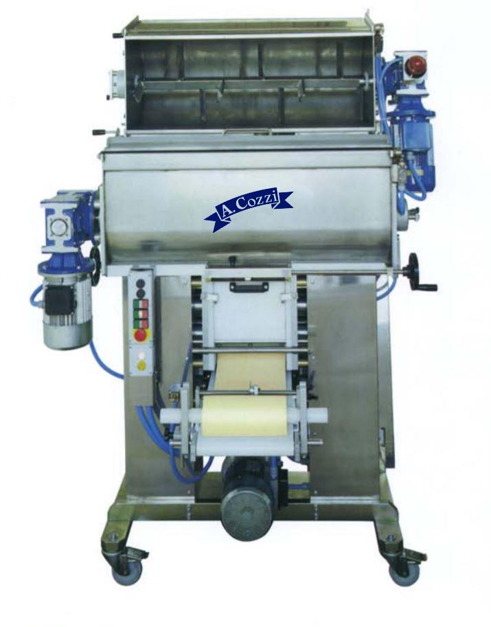 Sfogliatrice automatica a doppia vasca