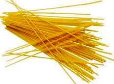 Tipo di pasta estrusa spaghetti