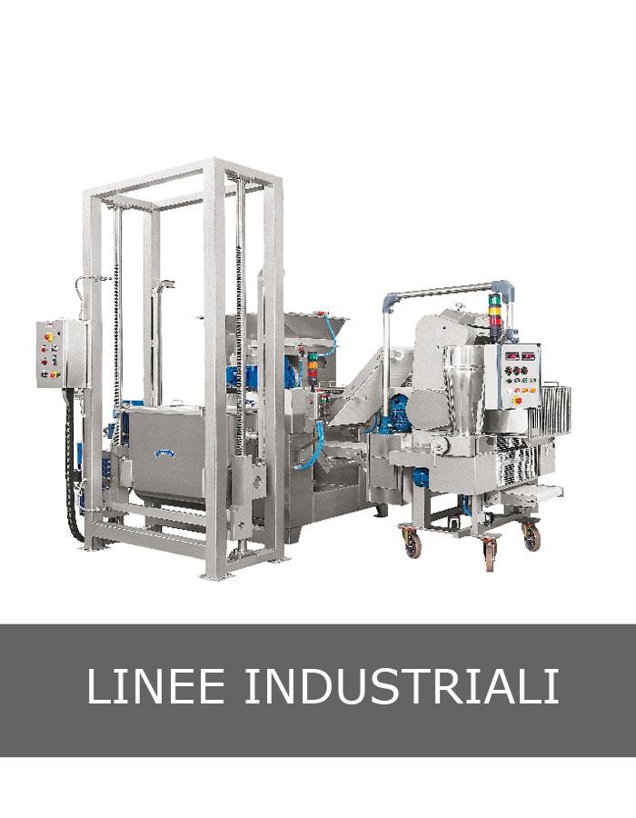 Linea industriale di pasta per cappelletti