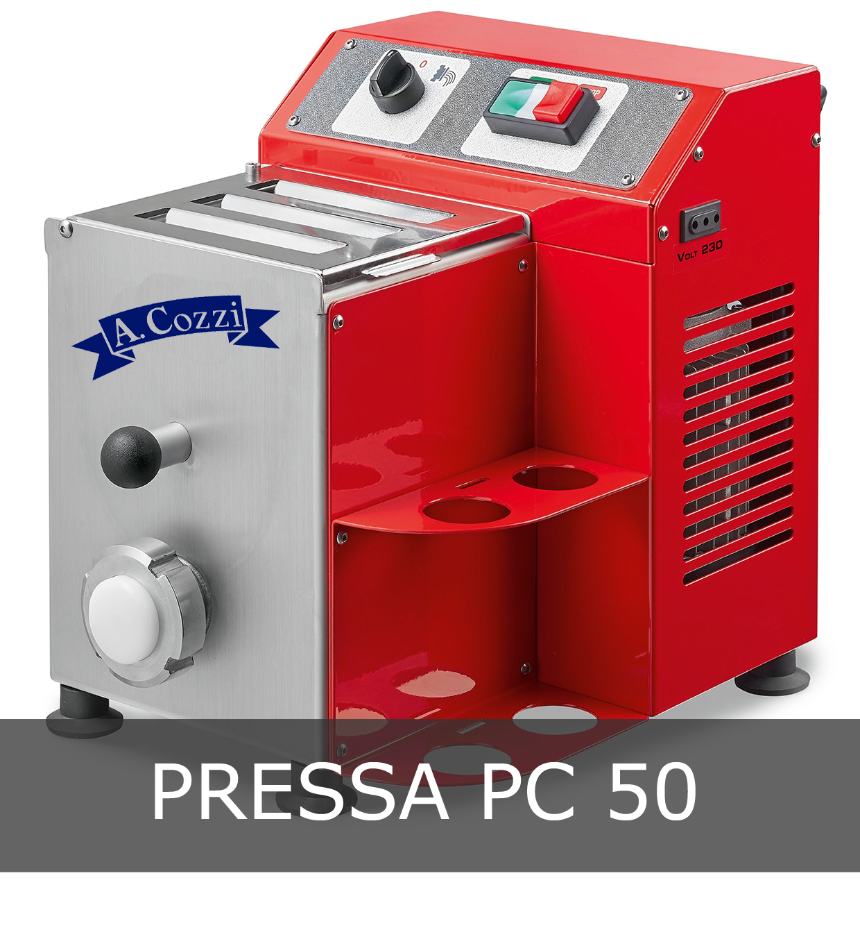 """Pressa per pasta fresca modello PC 50 """"Aldo Cozzi"""""""
