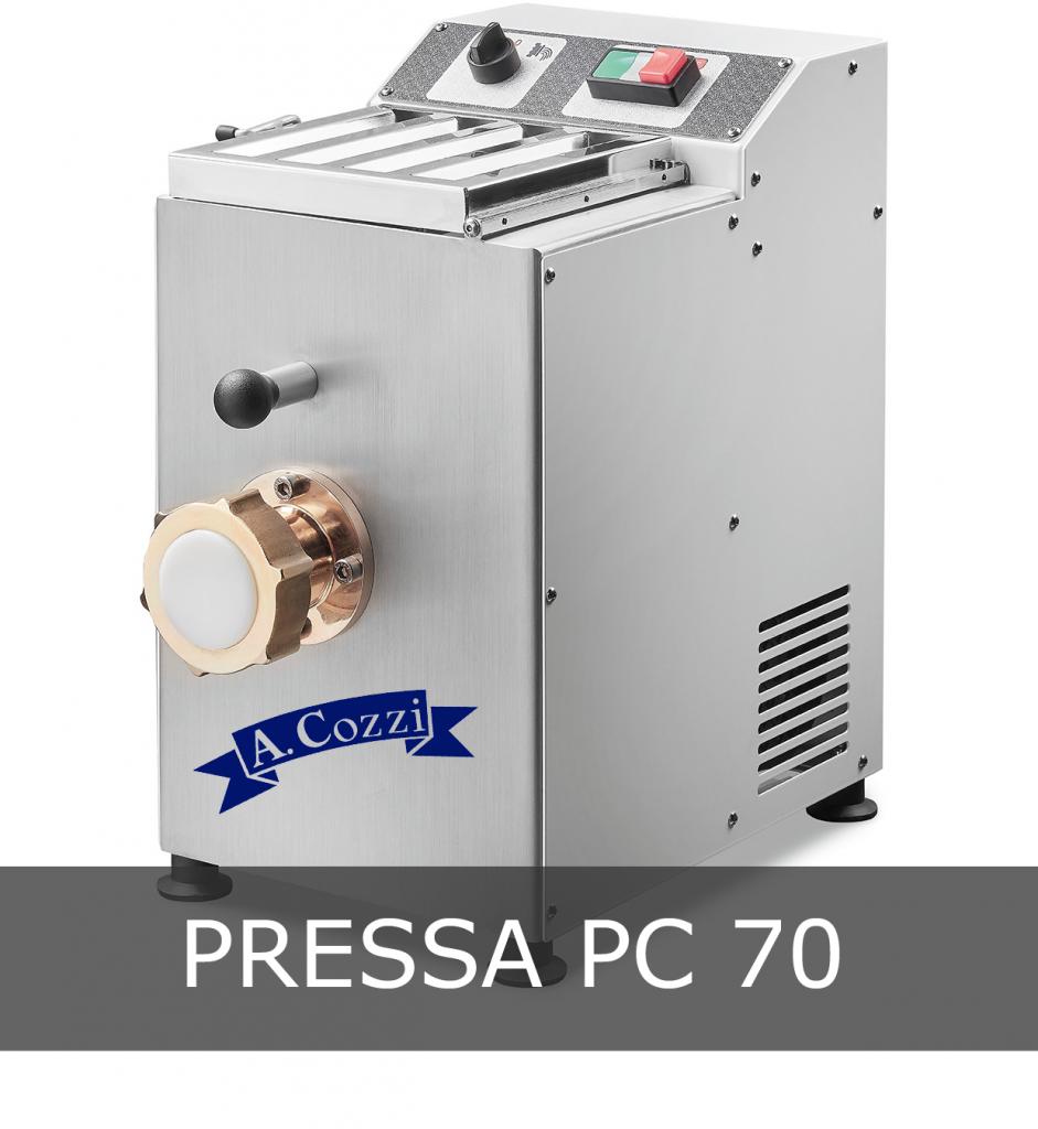 """Pressa per pasta fresca modello PC 70 """"Aldo Cozzi"""""""