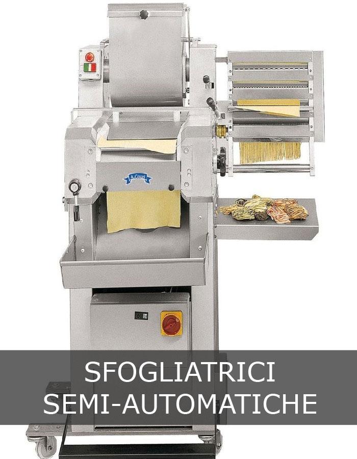 Sfogliatrice semi automatica