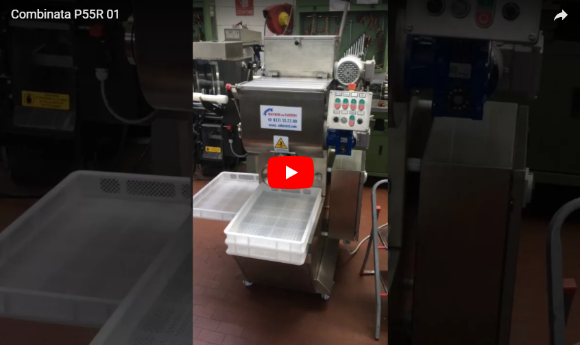Guarda il video della Pressa Raviolatrice PC 55 R