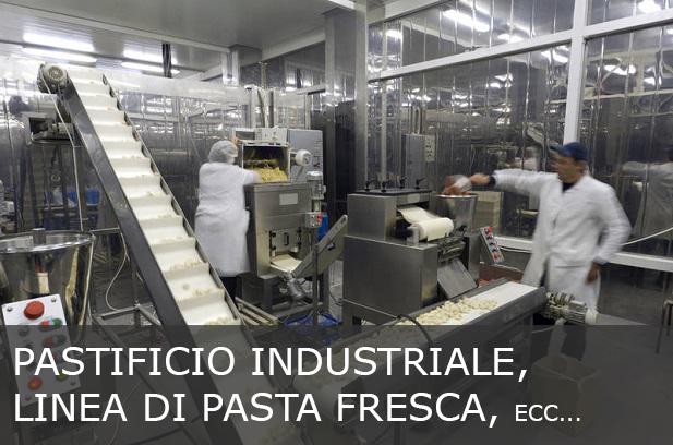 Presse per la pasta fresca adatte a pastifici industriali, linee di pasta fresca e grosse produzioni.