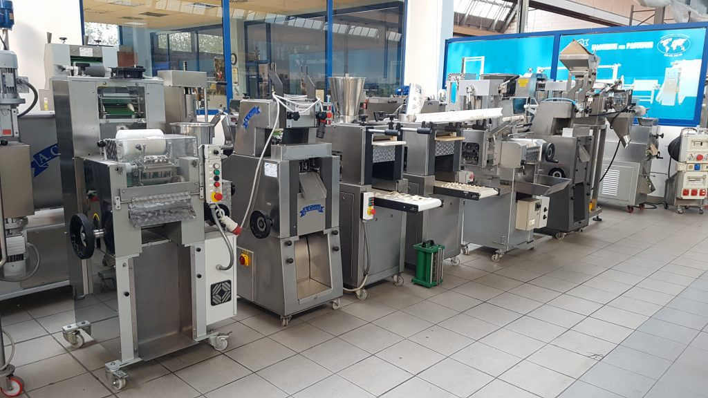 La nostra esposizione di Macchine per la Pasta Fresca