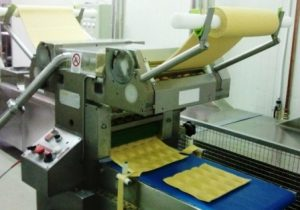 Macchina ravioli industriale doppia sfoglia automatica