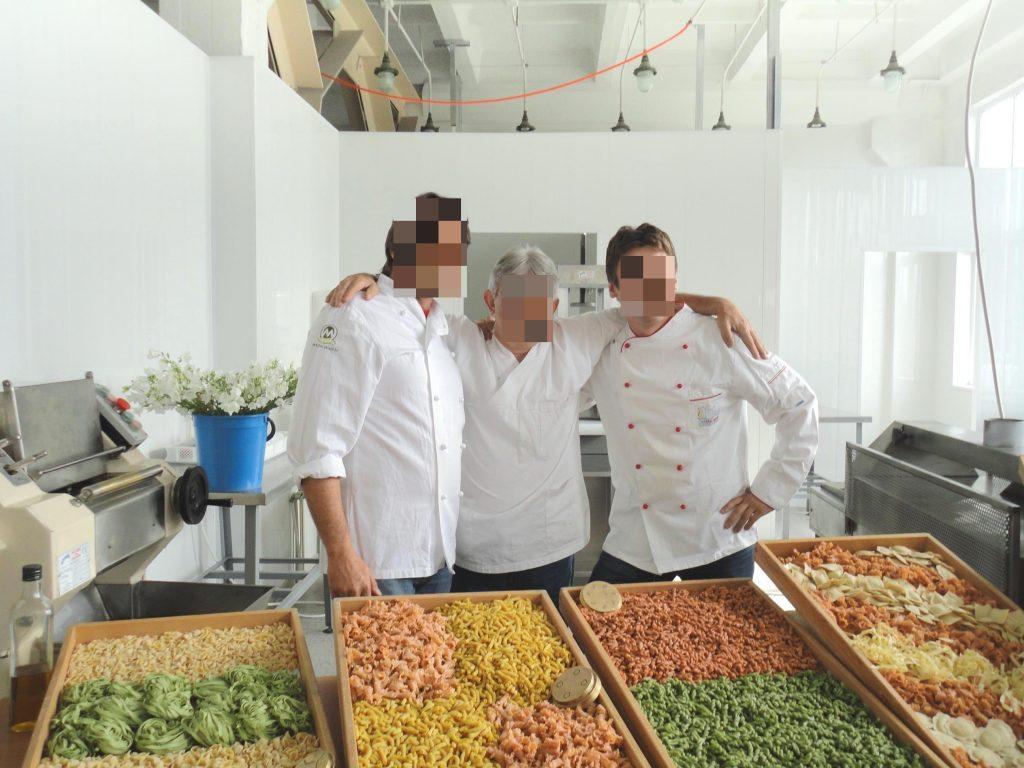 Negozio di Pasta Fresca in Russia aperto dalla ditta ALDO COZZI