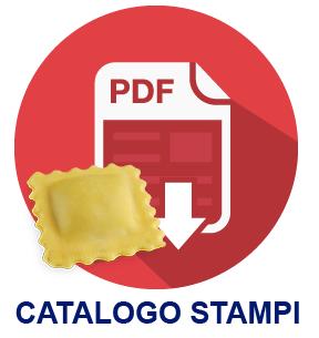 Scarica il Catalogo dei Formati di Ravioli producibili con gli stampi delle raviolatrici