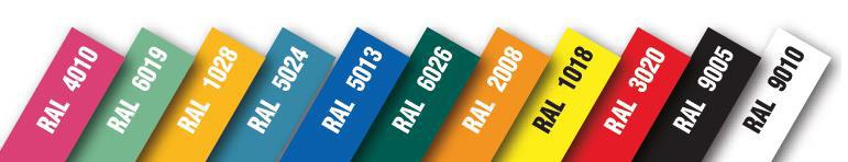Colori RAL Banchi Refrigerati Gastronomia