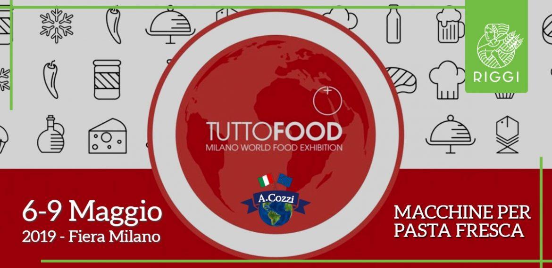 Macchine per pasta fresca alla fiera TUTTOFOOD 2019